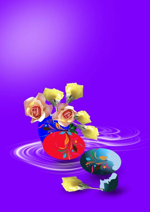 flowers floral arrangement easter