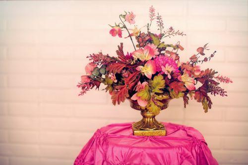 flowers bouquet pink