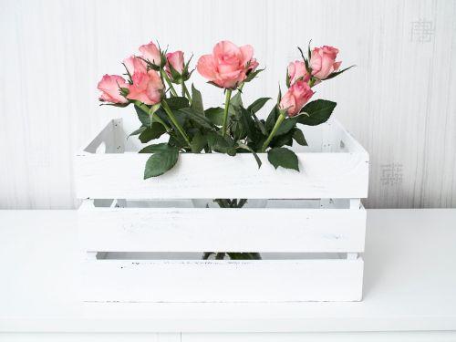flowers roses box