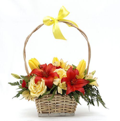 flowers basket flower basket