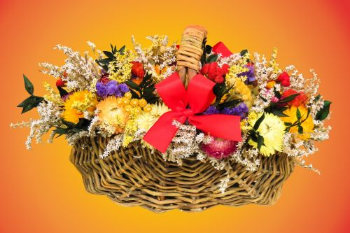 flowers arrangement heart