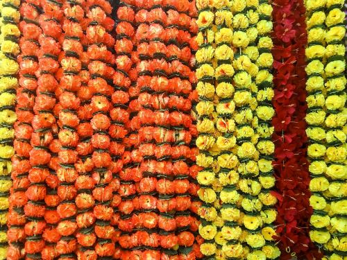 flowers decoration artificial