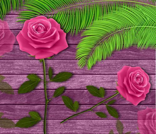 gėlės, mediena, fonas, rožės, gėlė, tekstūra, fono romantika, romantika, žiedlapis, pavasaris, dizainas, be honoraro mokesčio