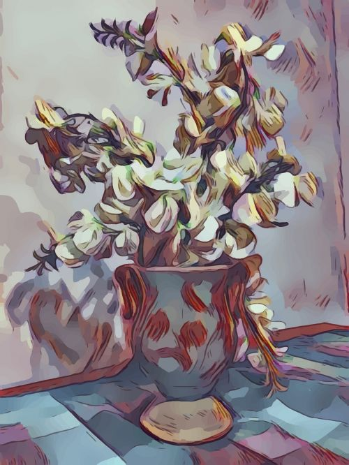 flowers arrangement vase