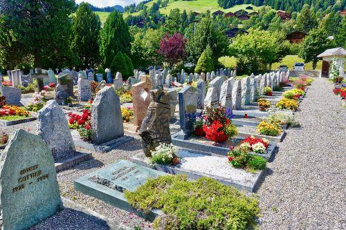 flowers cemetery grave