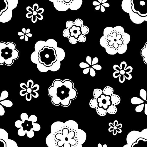 flowers pattern seamless