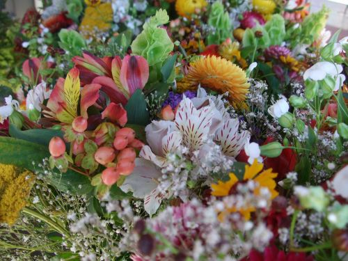 flowers bouquet natural