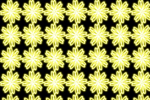 flowers background yellow