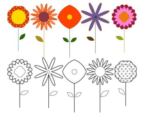 Flowers Elements