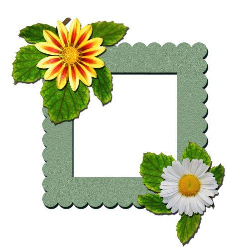 Flowers Frame Clipart
