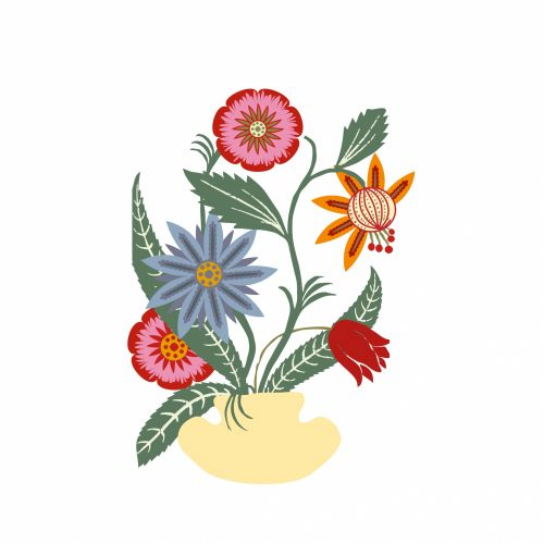 Flowers Illustration Clipart