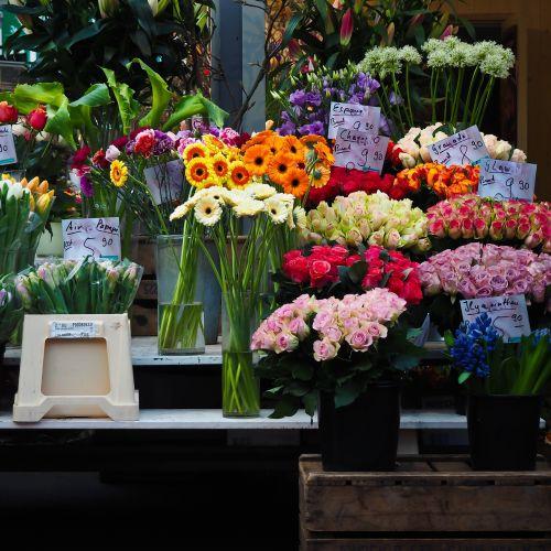 flowers was market flowers