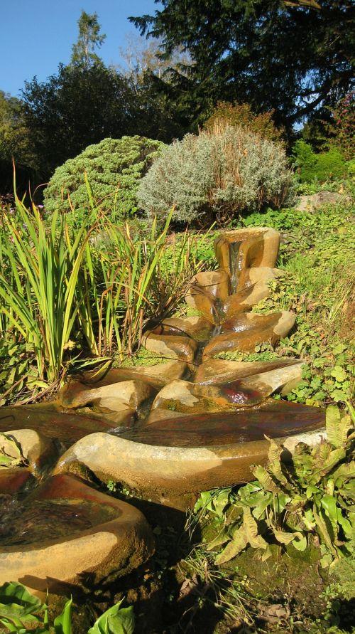 flowform glastonbury chalice well gardens