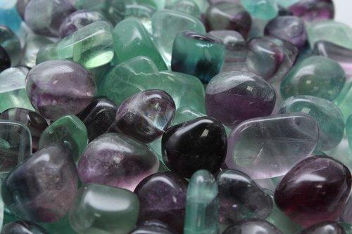 fluorite  ore  gem