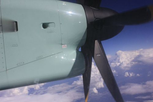 fly aircraft propeller the propeller