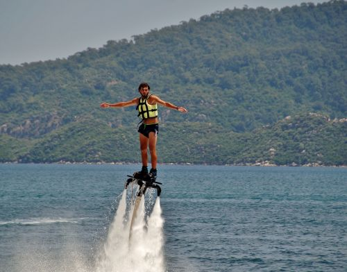 flyboarding water sports extreme
