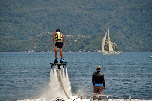flyboarding water sport extreme