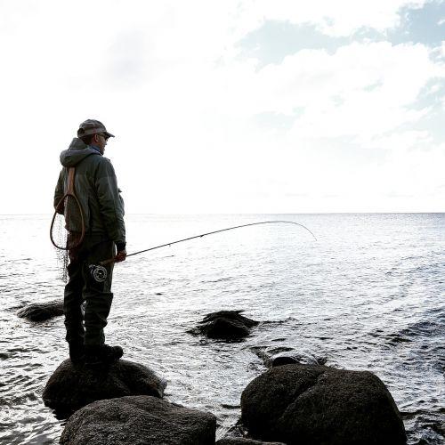 flyfishing fishing fisherman