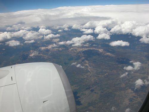 flying airborne jet