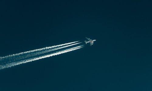 flying  passenger  aircraft