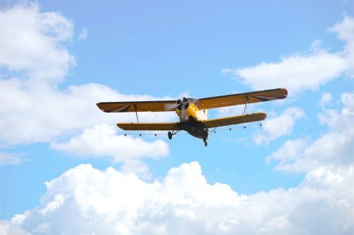 flying spraying mosquito control