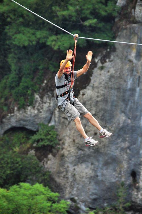 flying fox zip-line adventure