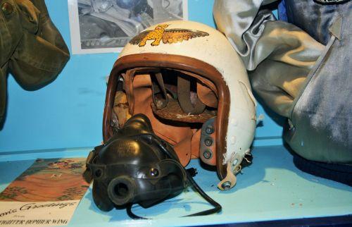 Flying Helmet And Oxygen Mask
