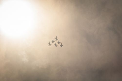 Flying Military Jets