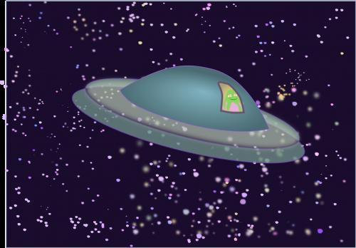 flying saucer ufo alien