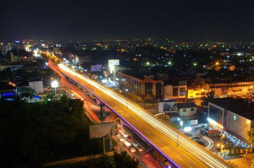 flyover bridge light