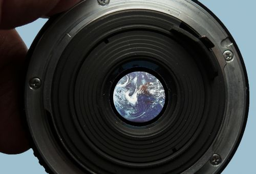 focus earth earth in focus