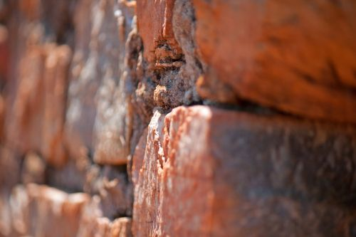 Focus On Part Of Wall