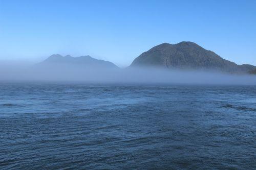 fog foggy hill
