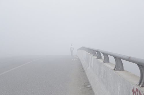 fog bridge shadow