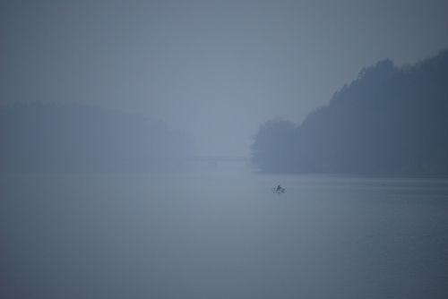 fog lake angler