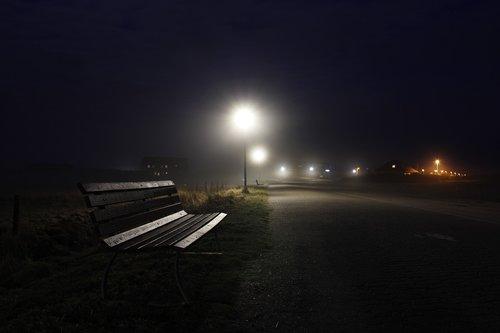 fog  dusk  lantern