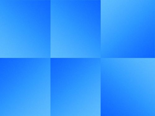 Folded Blue Paper