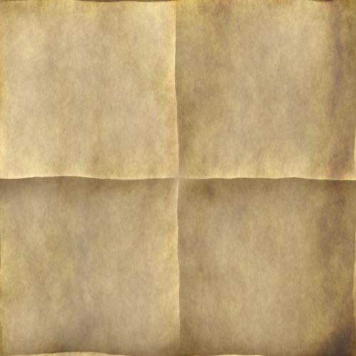 folded paper old letter