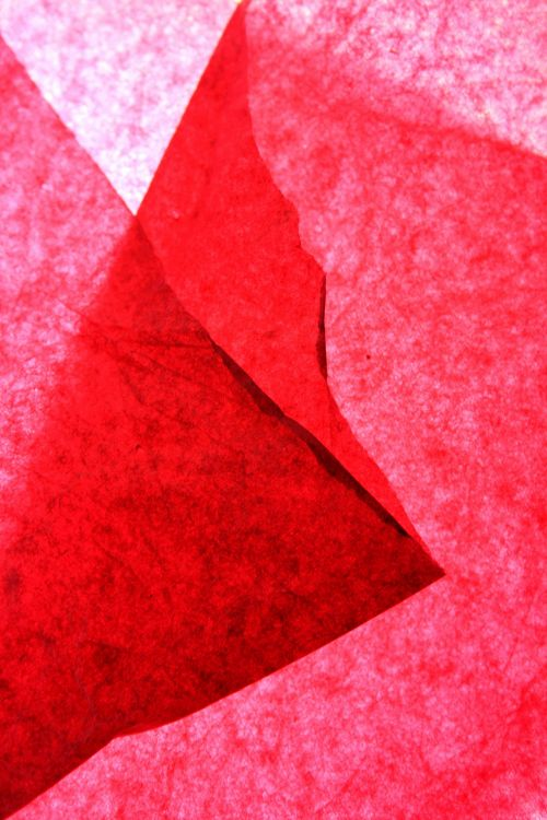 Folded Pink Paper Background
