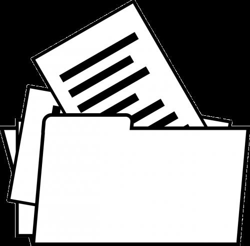 folder files dossier