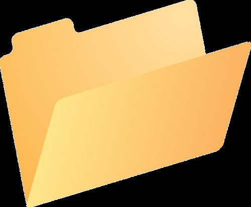 folder directory dossier