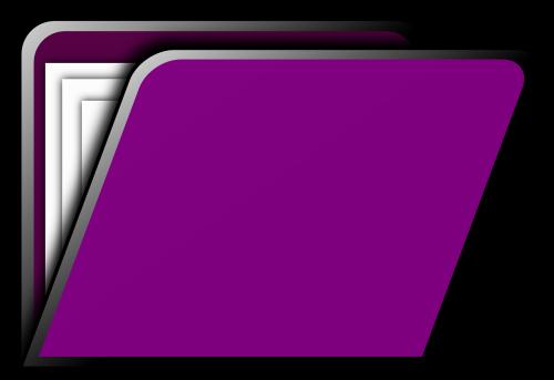 folder directory purple