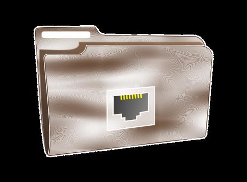 folder net plastic