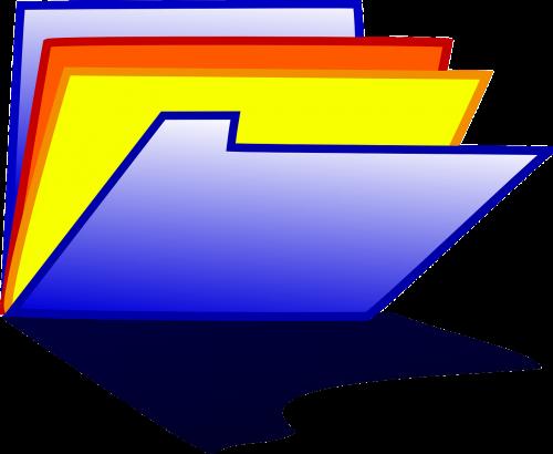 folder office file