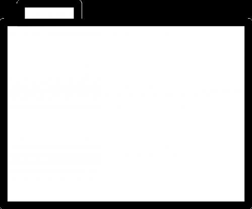 folder office white