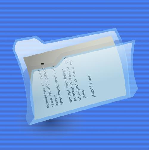 folder file paper