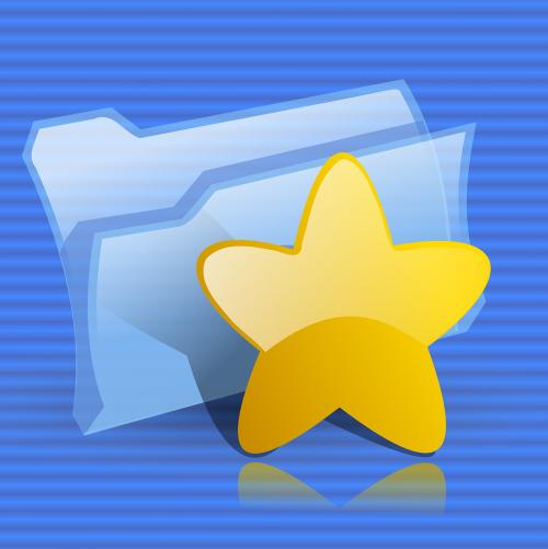 folder star favorites