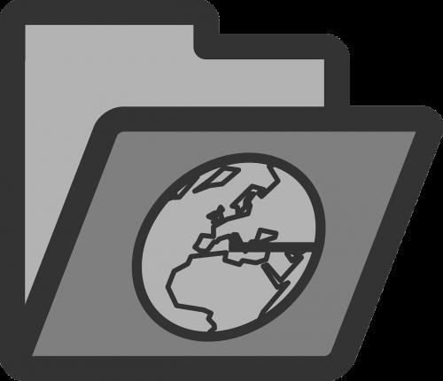 folder directory www