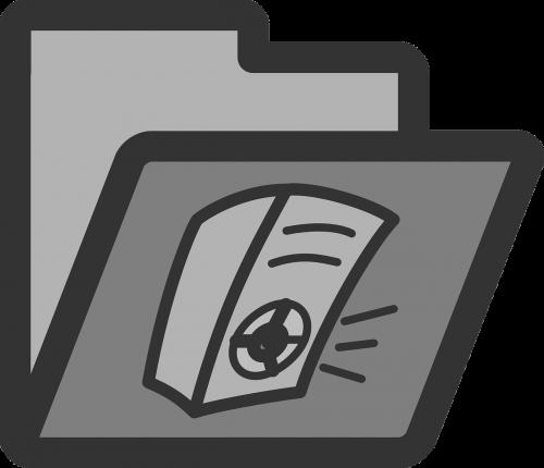 folder audio sound