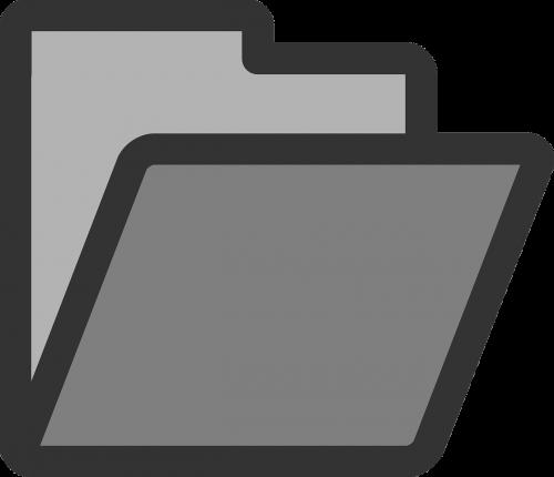 folder open empty